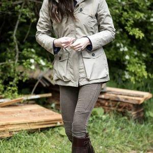 Kate Middleton Zara olive moto pant